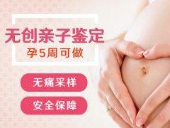 胎儿三个月了能鉴定亲子吗